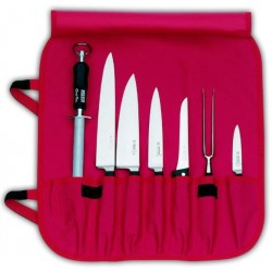 Sestava nožů kovaných -pouzdro