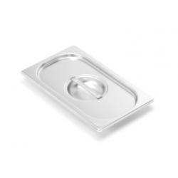 Víko standardní GN 1/3 bez úchytů, s výřezem na naběračku, silikonové těsnění