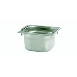 Gastronádoba perforovaná, plné se sklápěcími  úchyty GN 1/6 1,0 L, 1,6 L, 2,4 L, 3,4 L