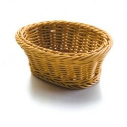 Košík na pečivo polypropylen - oválný 24x18x8 cm, 28x16x8,5 cm