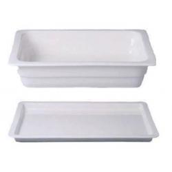 Gastronádoba porcelánová GN 2/3 2,2 cm, 6,5cm, 352x325mm