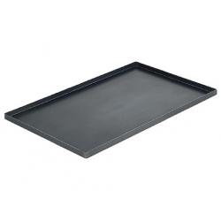 Plech na pečení - černá ocel 600x400x20 mm