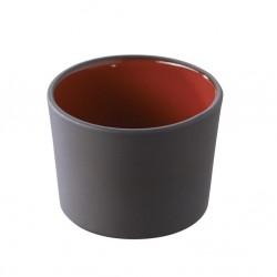 Pohárek Solid nízký červený