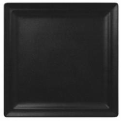 Talíř mělký čtvercový 30cm - černá, červená, hnědá, tmavě červená, šedá, bílá
