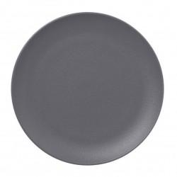Talíř mělký 18 cm - šedá