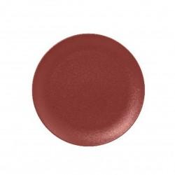 Talíř mělký 21 cm - tmavě červená