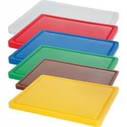 Desky barevné s drážkou 500x300x15 mm