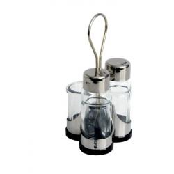 Menážka - sůl, pepř, párátka