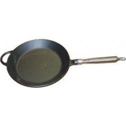 Pánev litinová kulatá pr.25,0 cm, 28,0 cm, 36,0 cm